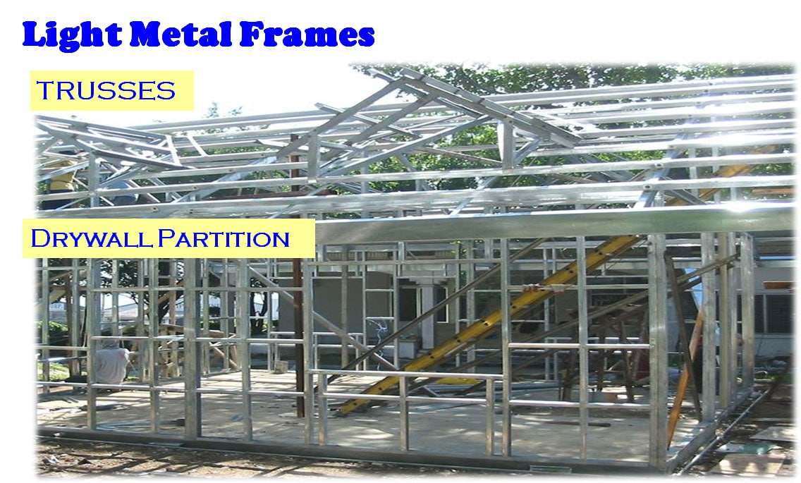 Light Metal Frames and the Philippines' Roofing Contractors
