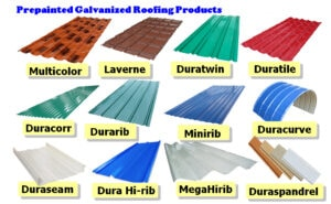 UGC Prepainted Galvanized Roofing Products