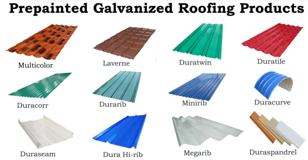 Metal roofing from Union Galvasteel