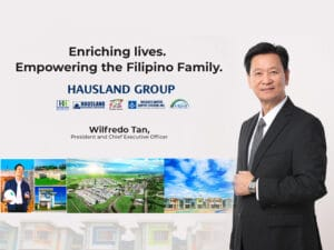 Union Cement Feature on Wilfredo M. Tan, President and CEO of The Hausland Group